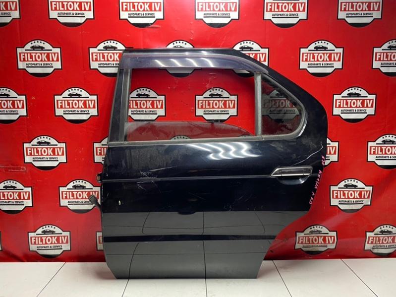Дверь боковая Nissan R'nessa N30 SR20DE 1999 задняя левая
