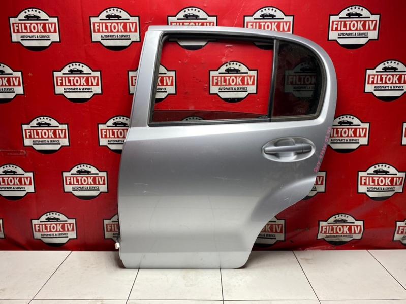 Дверь боковая Toyota Passo KGC30 1KRFE 2010 задняя левая
