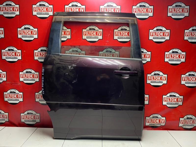 Дверь боковая Nissan Presage TU31 QR25DE 2007 задняя правая