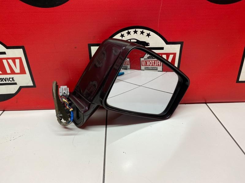 Зеркало Nissan Presage TU31 QR25DE 2007 правое
