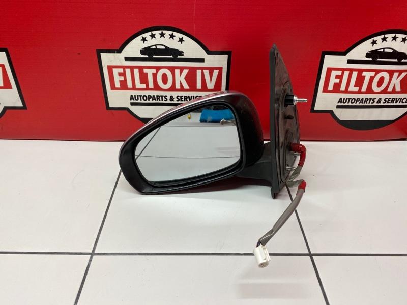 Зеркало Toyota Passo KGC30 1KRFE 2010 левое