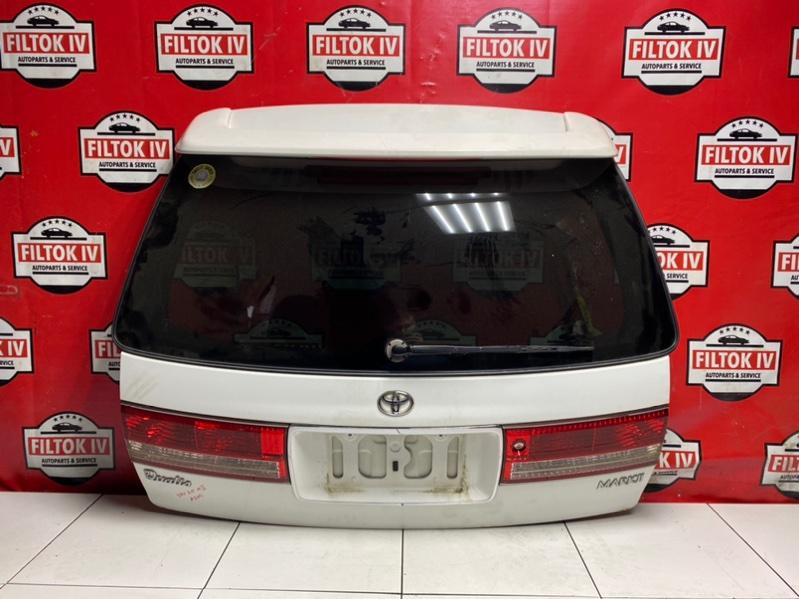 Дверь багажника Toyota Mark Ii Wagon Qualis SXV20W 5SFE 2000