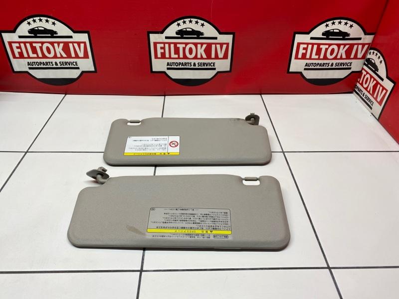 Солнцезащитные козырьки Toyota Passo KGC30 1KRFE 2010