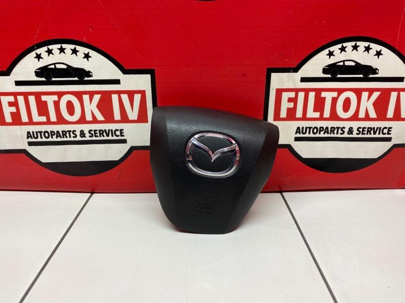 Подушка безопасности водителя Mazda Atenza GHEFP LFVE 2010