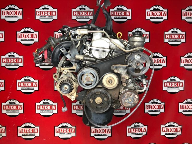 Двигатель Toyota Vitz SCP10 1SZFE 2000