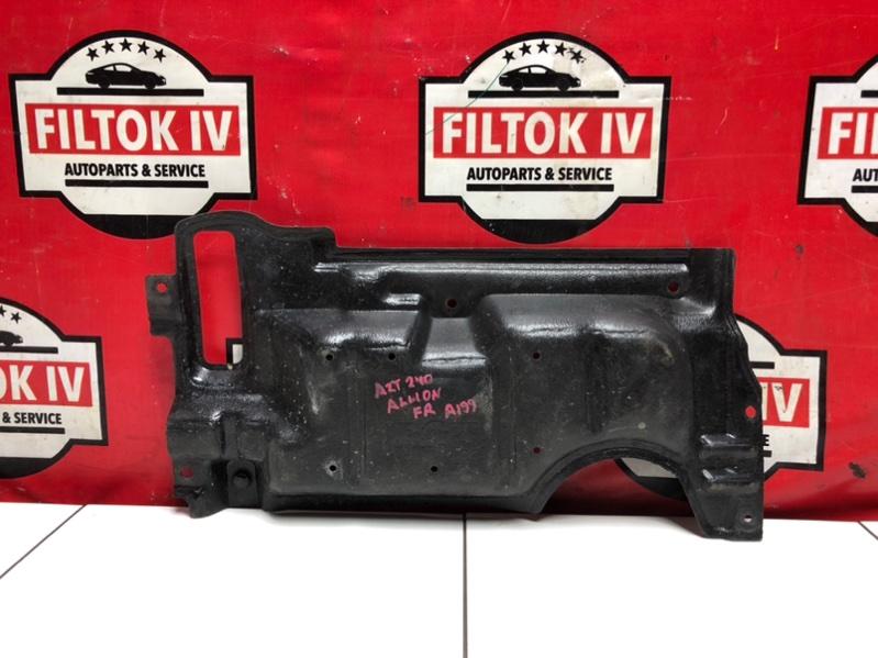 Защита двигателя Toyota Allion AZT240 1AZFSE 2004 передняя правая