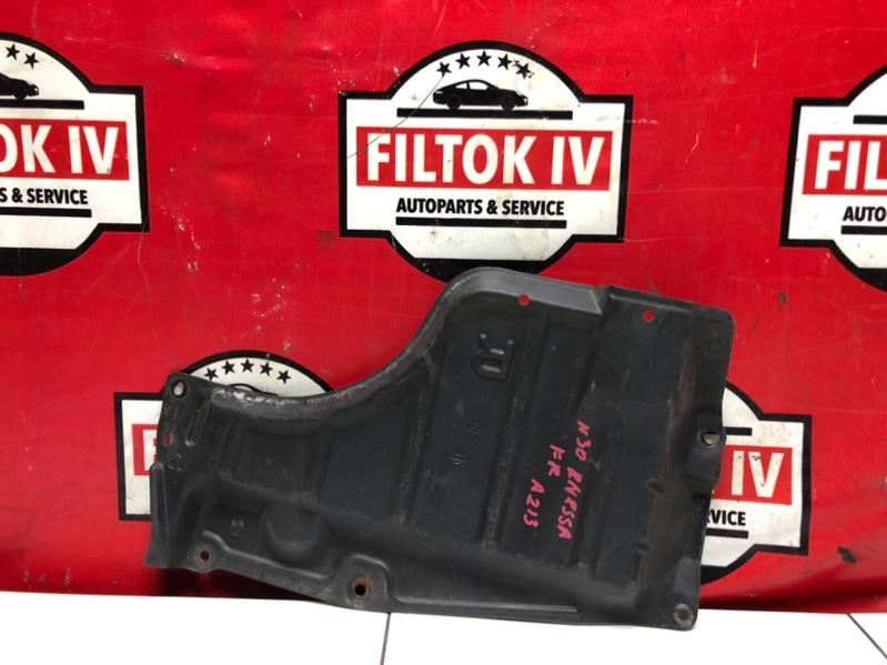 Защита двигателя Nissan R'nessa N30 SR20DE 1999 передняя правая