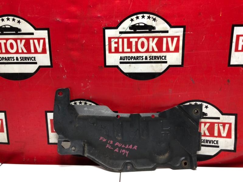 Защита двигателя Nissan Pulsar FN15 GA15DE 1997 передняя левая