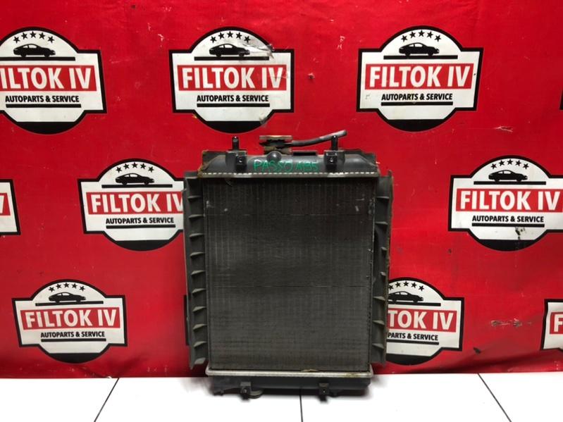 Радиатор основной Toyota Passo KGC30 1KRFE 2010