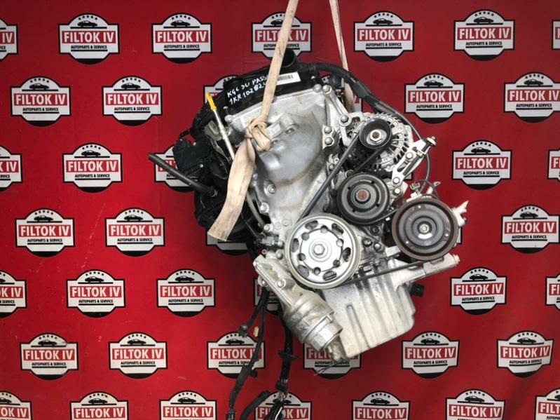 Двигатель Toyota Passo KGC30 1KRFE 2010