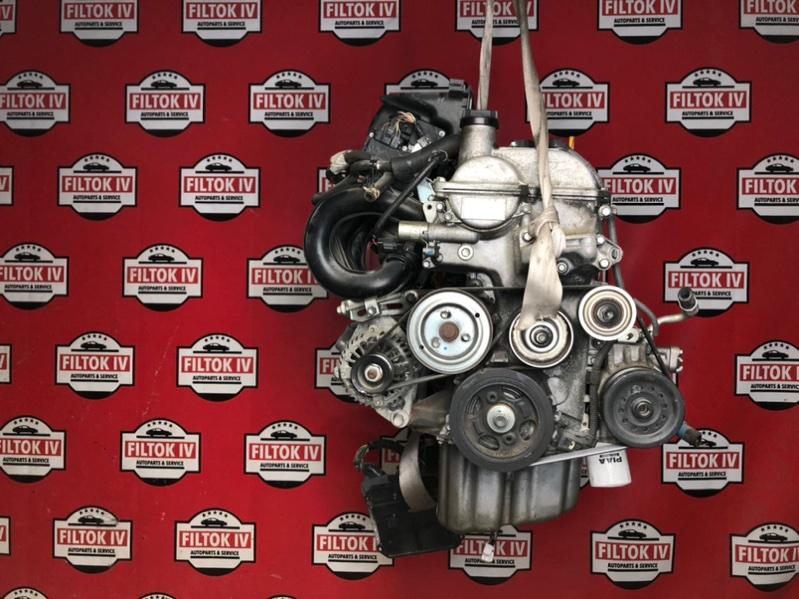 Двигатель Toyota Vitz SCP90 2SZFE 2006