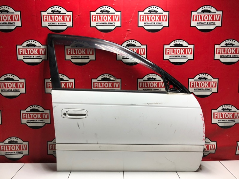 Дверь боковая Toyota Caldina ST210 3SFE 1999 передняя правая