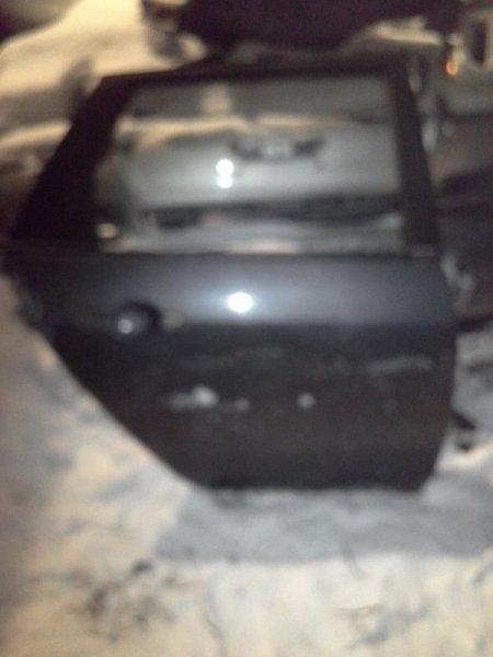 Дверь Nissan Primera P12 QG18 2002 задняя правая