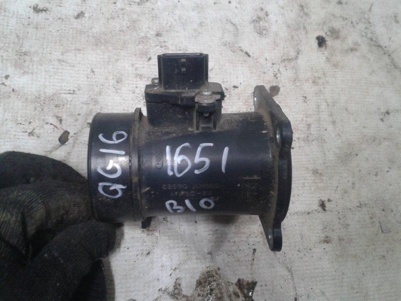 Датчик расхода воздуха Nissan Almera Classic B10 QG16 2007