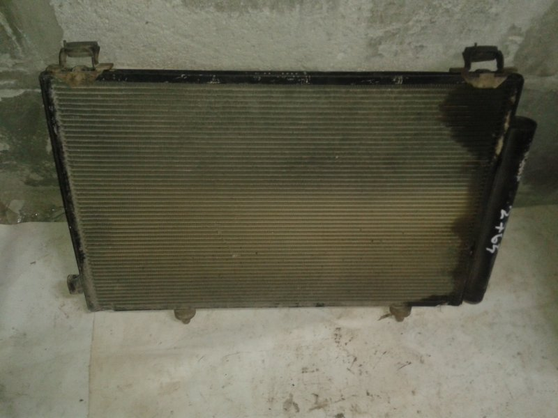 Радиатор кондиционера Toyota Ist NCP60 2NZ-FE 2003