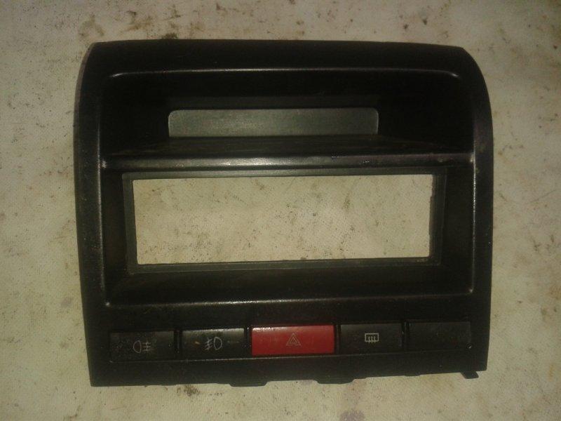 Консоль центральная Fiat Albea 2007