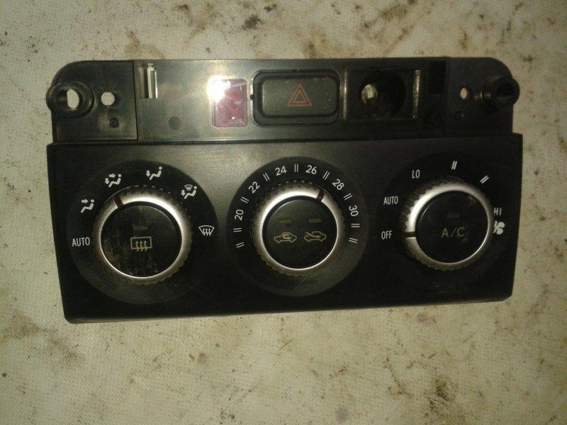 Блок управления печкой Toyota Ist NCP60 2NZ-FE 2003