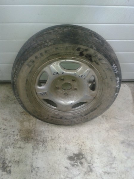 Запасное колесо Honda Cr-V RD8 K20 2003