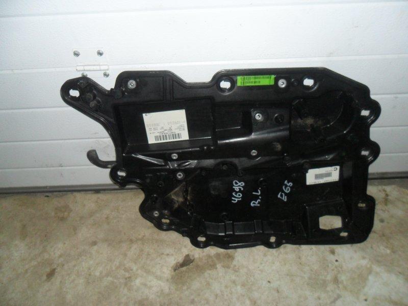 Шумоизоляция двери Bmw 7 E65 задняя левая