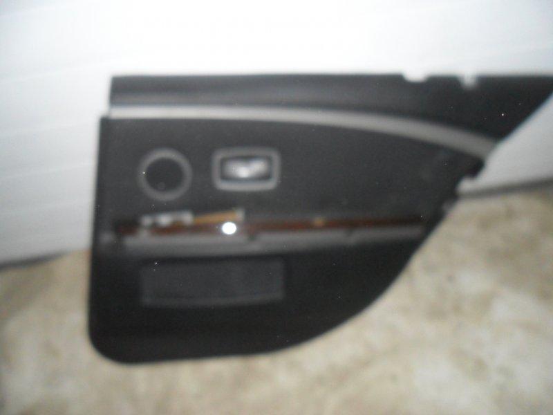 Обшивка двери Bmw 7 E65 задняя правая