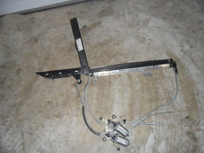 Шторка двери Bmw 7 E65 задняя левая