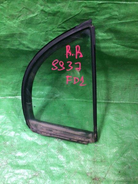 Форточка двери Honda Civic 4D FD1 R18A 2006 задняя правая