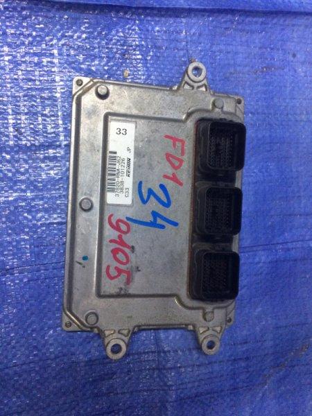 Блок управления двигателем Honda Civic 4D FD1 R18A 2006