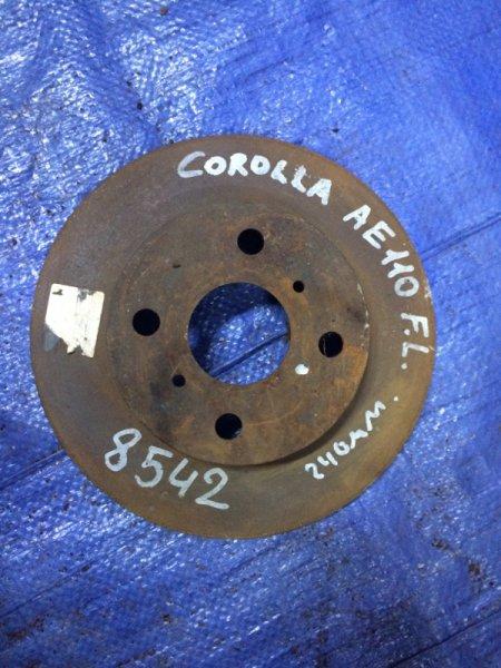 Диск тормозной Toyota Corolla 110 AE110
