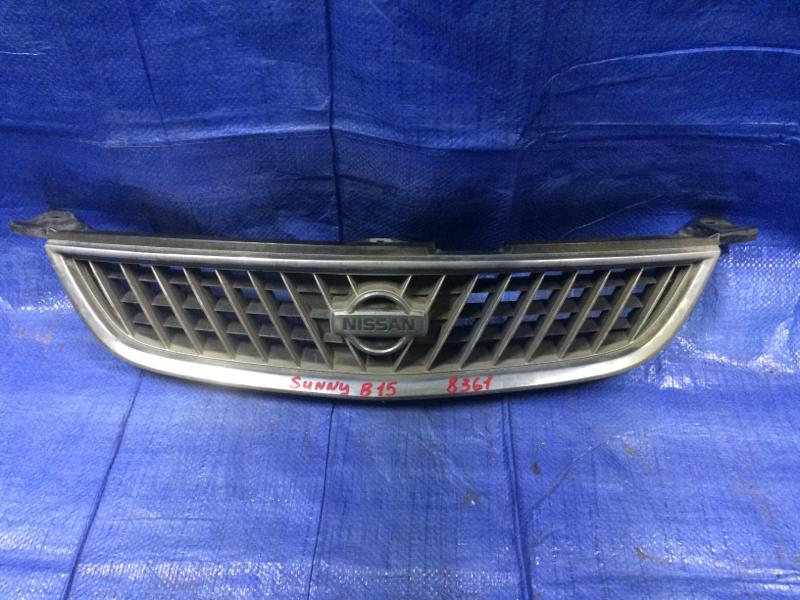 Решетка радиатора Nissan Sunny FB15 QG15 2001