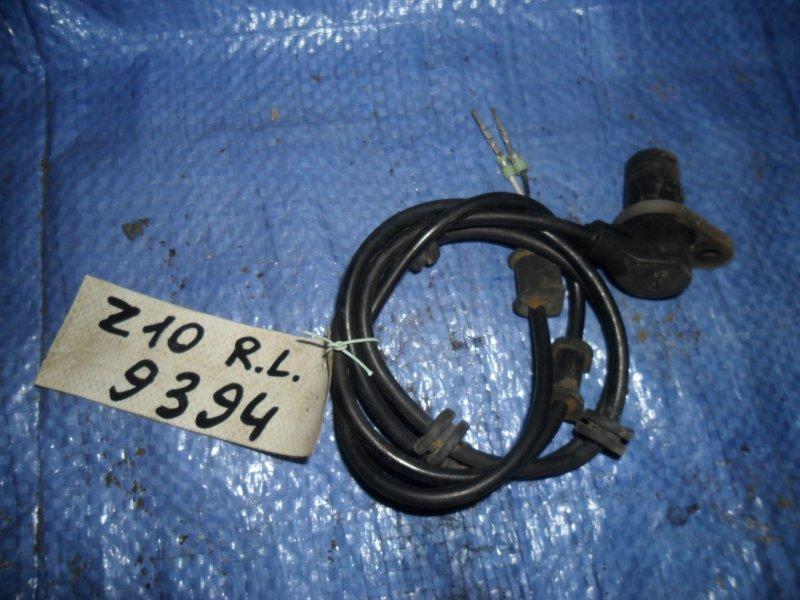 Датчик abs Nissan Cube Z10 CG13DE 1998 задний левый