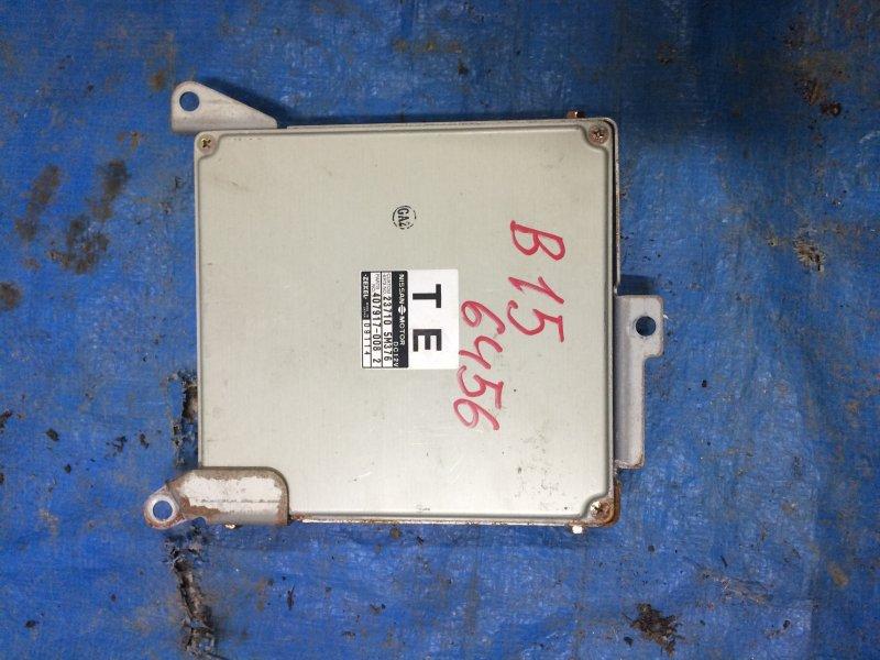 Блок управления двигателем Nissan Sunny SB15 YD22 1999