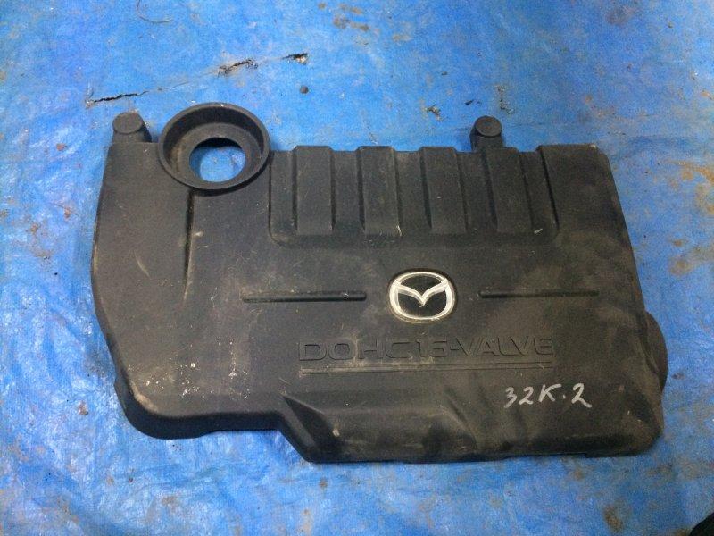 Крышка двигателя Mazda 6 GG LF18 2002