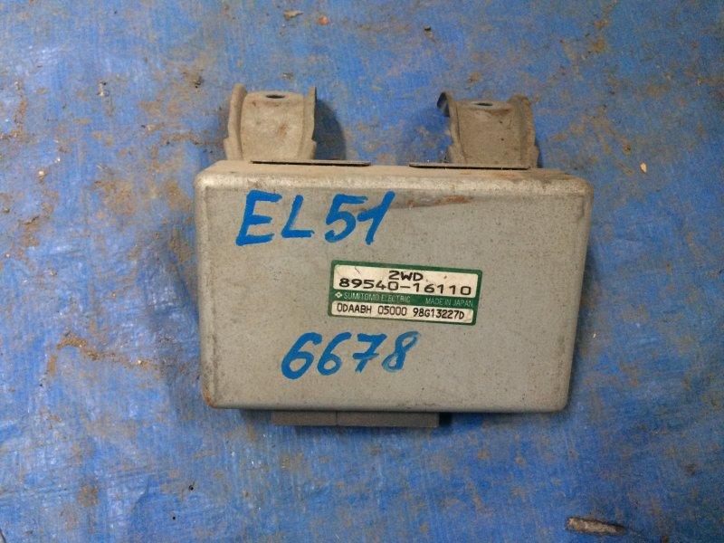 Блок управления abs Toyota Corsa EL51 4E-FE 1998
