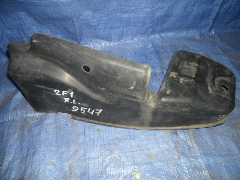 Пыльник бампера Renault Laguna 2F1 F9Q 2003 задний левый