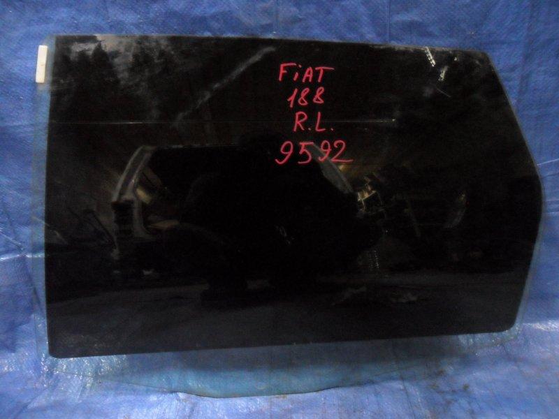 Стекло двери Fiat Punto 188 1.2 1999 заднее левое