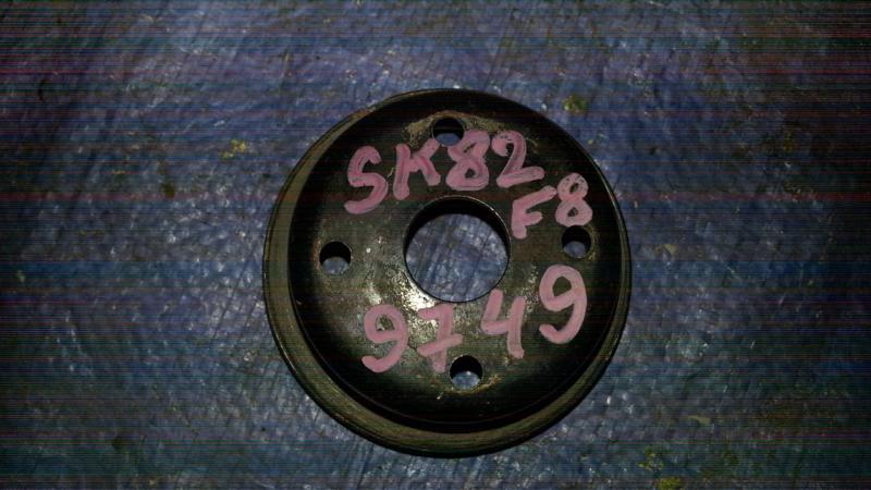 Шкив вискомуфты Nissan Vanette SK82MN F8