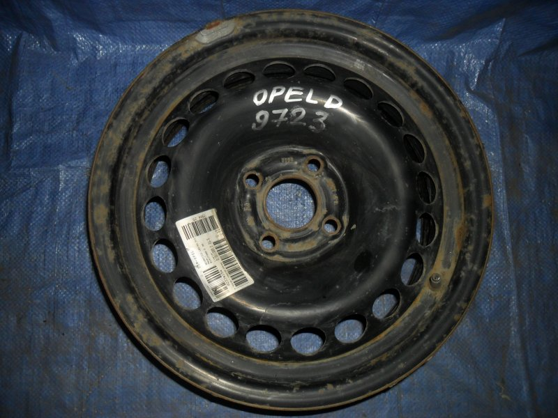 Диск штампованный Opel Corsa D 2008