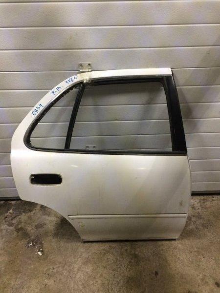 Дверь Toyota Camry Sv30 SV30 4S-FE 1993 задняя правая