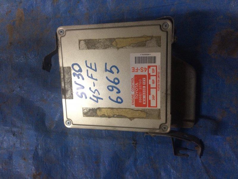 Блок управления двигателем Toyota Camry Sv30 SV30 4S-FE 1993