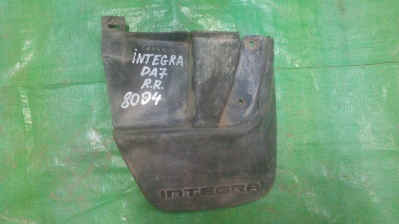 Брызговик Honda Integra DA7 1990 задний правый