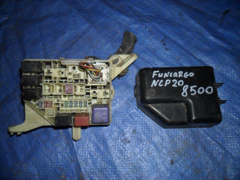 Блок предохранителей Toyota Funcargo NCP20 2NZ 1999