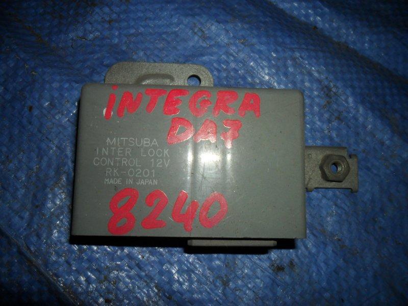 Блок управления центральным замком Honda Integra DA7 1994