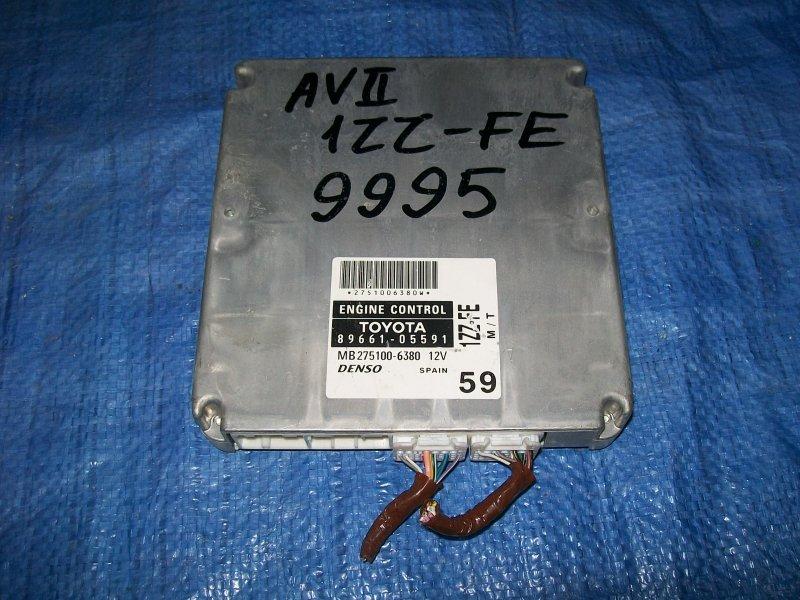 Блок управления двигателем Toyota Avensis ZZT251 1ZZ-FE 2003