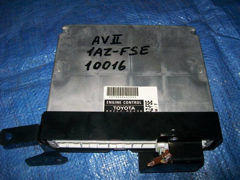 Блок управления двигателем Toyota Avensis AZT250 1AZ-FSE 2003