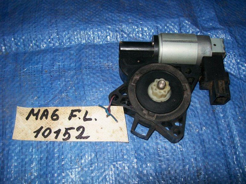 Мотор стеклоподъемника Mazda 6 GG LF18 2002 передний левый