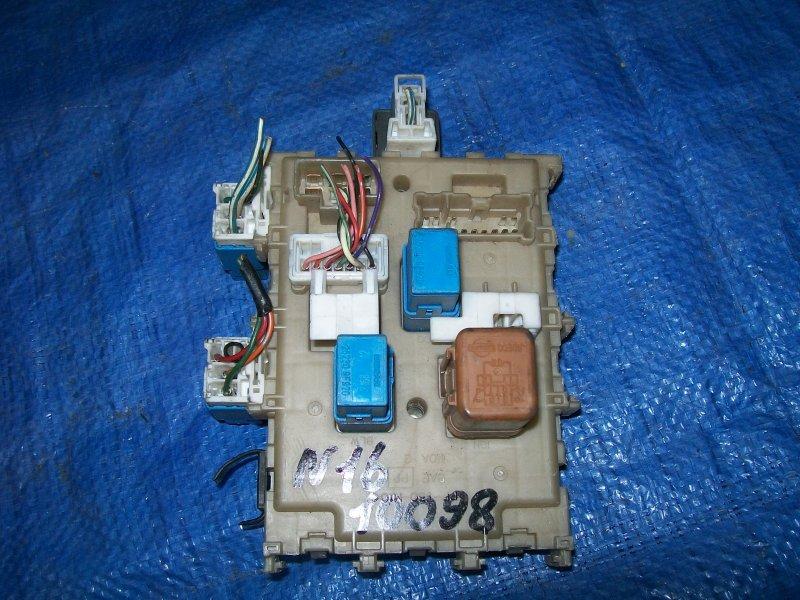 Блок предохранителей Nissan Almera N16 QG15 2001