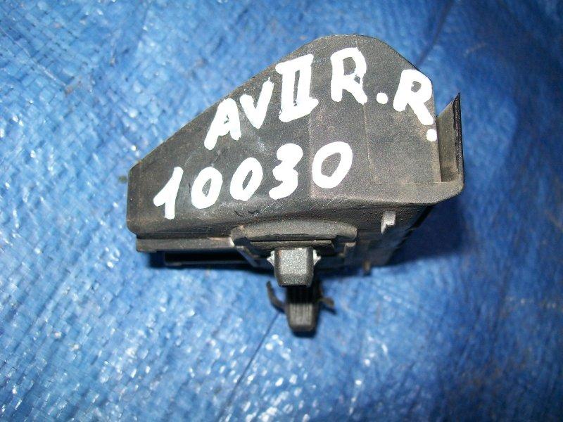 Крепление бампера Toyota Avensis AZT250 1AZ-FSE 2003 заднее правое