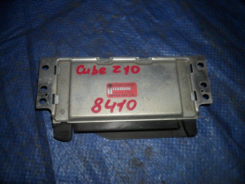 Блок управления акпп Nissan Cube Z10 CG13DE 1998