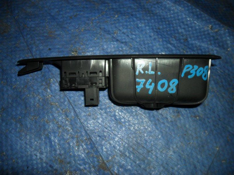 Кнопка стеклоподъемника Peugeot 308 EP6 2007 задняя левая