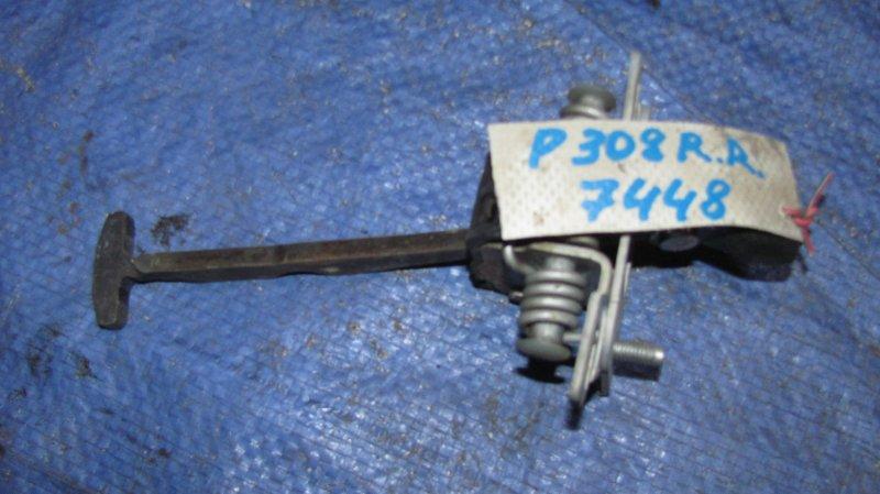 Ограничитель двери Peugeot 308 EP6 2007 задний